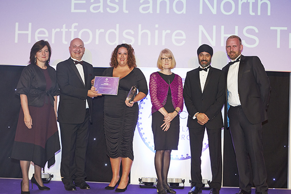 East and North Hertfordshire Allocate Award 2017 Care Needs First_web