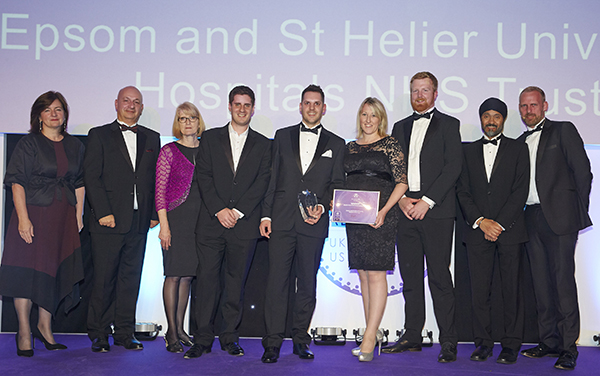 Epsom and St Helier Allocate Award 2017 Workforce Intelligence_web