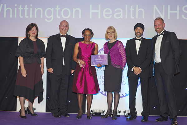 Whittington Health NHS Allocate Award 2017 Evolving Care Settings_web