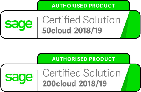 Sage 50cloud and 200cloud certified business expenses management solution
